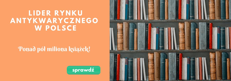 Lider rynku antykwarycznego w Polsce - ponad pół miliona egzemplarzy - Tezeusz.pl